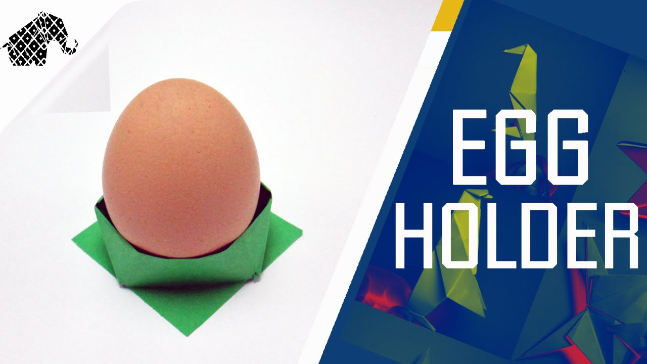 how to make an egg out of paper