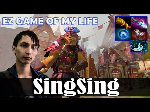 SingSing - Pangolier Offlane | EZ GAME OF MY LIFE | Dota 2 Pro MMR Gameplay