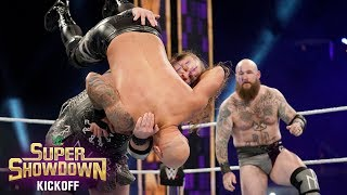 The Viking Raiders vs. The O.C.: WWE Super ShowDown 2020 Kickoff Match