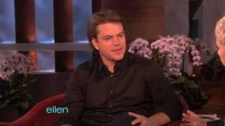 Matt Damon Finally Visits Ellen!