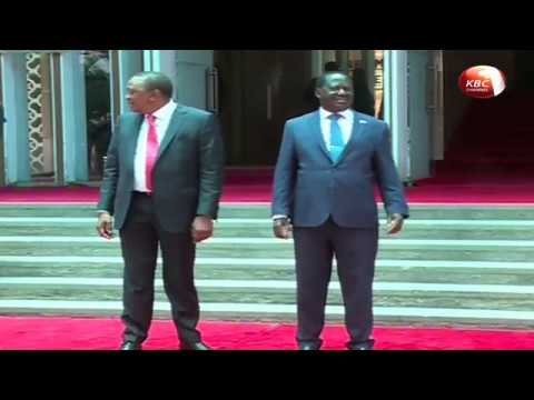 Fresh political air after President Kenyatta held talks with Raila Odinga