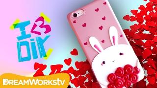 Valentine's Bunny Phone Case | I ♥ DIY