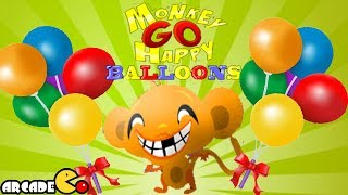 Monkey GO Happy Balloons Walkthrough Complete Levels