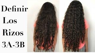 DEFINICIÓN DE RIZOS 3A y 3B en niñas con cabello rizado | FRIZZYDESI