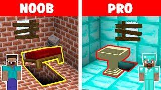 Minecraft NOOB vs PRO: PRISON SECRET ESCAPE in minecraft / Animation