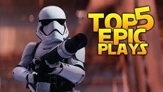 ULTIMATE GRENADE COMBO - Battlefront 2 Top 5 Plays