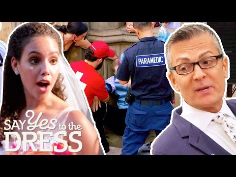 Groom Passes During Big Central Park Wedding   Say Yes To The Dress America