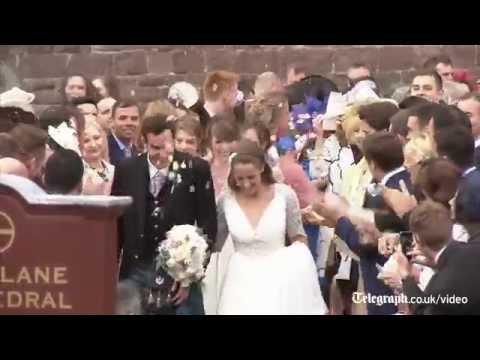 Andy Murray and Kim Sears' wedding highlights