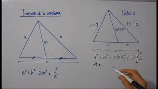 Relaciones métricas en el triángulo oblicuángulo - Geometría