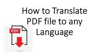 How to Translate a PDF to Any Language screenshot 3