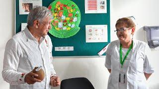 Diálogo con la comunidad del Hospital Rural Ocosingo, desde Ocosingo, Chiapas