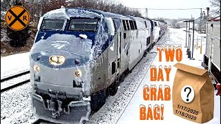 VIRTUAL RAILFAN TWO DAY GRAB BAG!  HIGHLIGHTS OF THE PAST 48 HOURS!