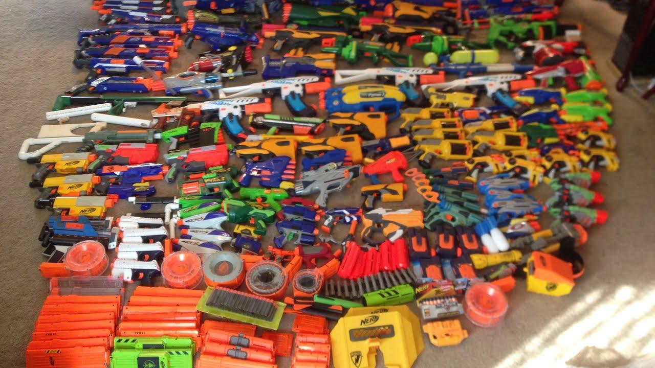 Nerf Gun Arsenal 137 Gun Nerf Arsenal�...