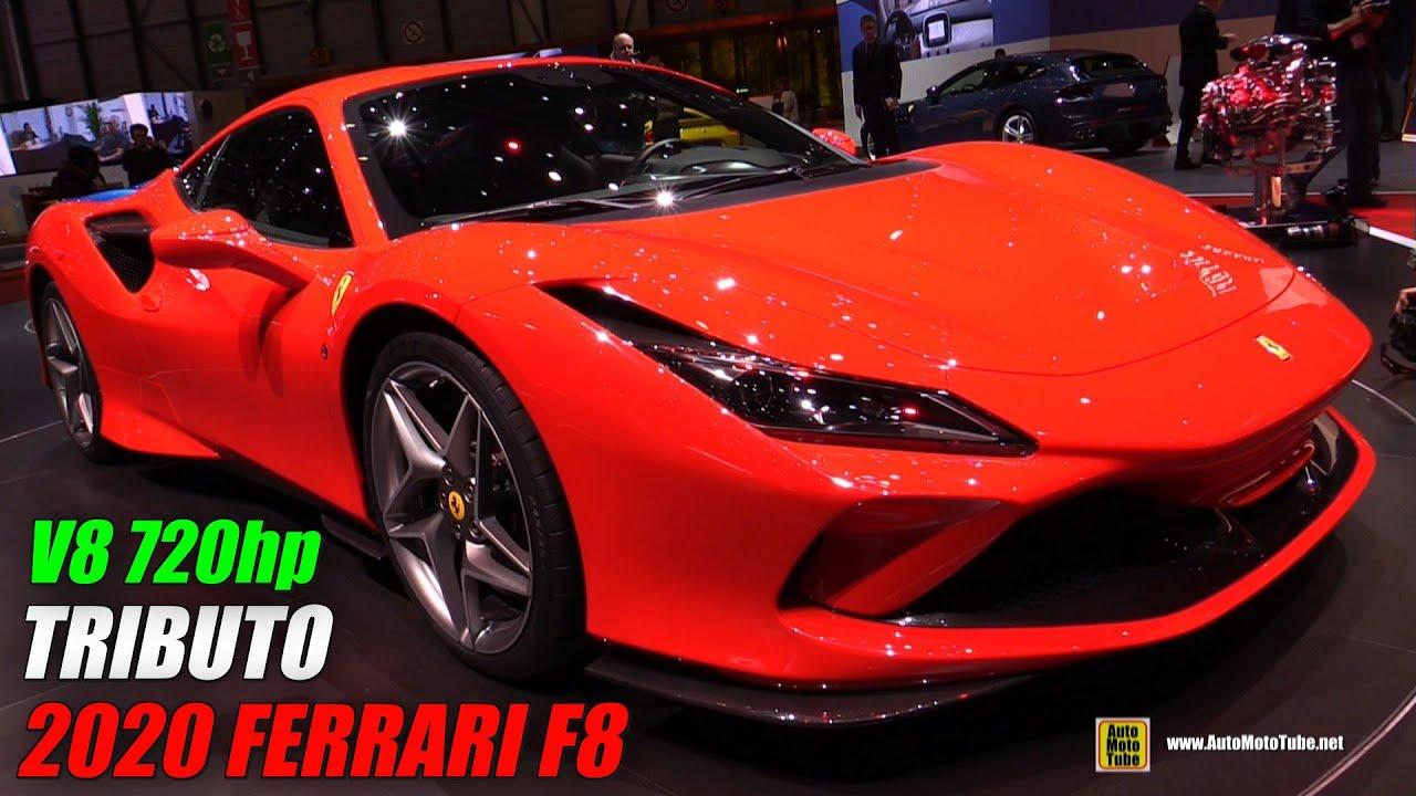 2020 Ferrari F8 Tributo - Exterior and Interior Walkaround - Debut at 2019 Geneva Motor Show