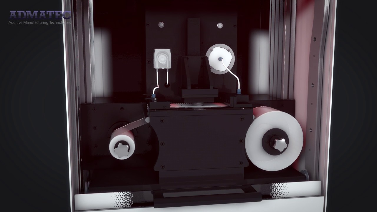 video Admatec ADMAFLEX 300 3D Printer