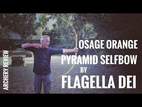 Osage Orange Pyramid Bow By Flagella Dei - Review