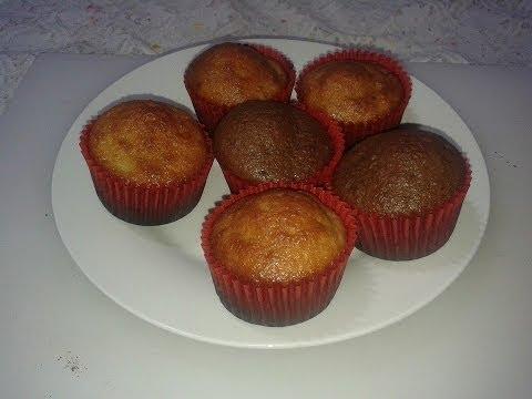 Receta # 23, MANTECADAS, como hacer cupcakes | Chef Roger