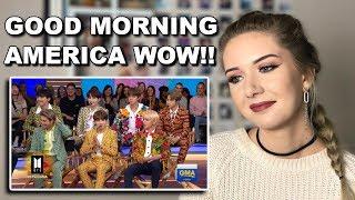BTS' Interview on GMA reaction // ItsGeorginaOkay