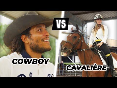 Cowboy Vs Cavalière ( j'ai mangé le sol)