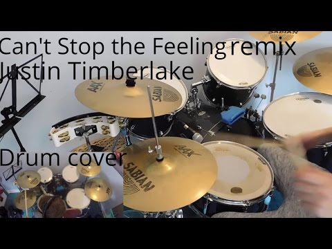 Can't Stop the Feeling- Justin Timberlake- Club remix- Drum cover