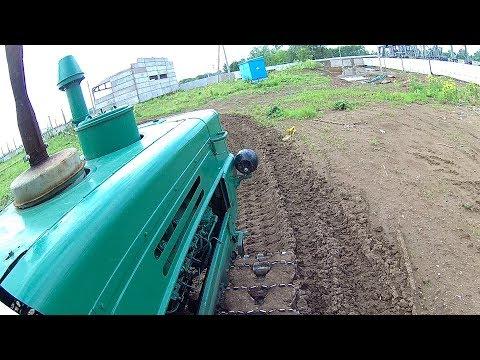 Гусеничный трактор Т-150 Тест-драйв 2017