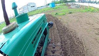 Гусеничний трактор Т-150 Тест-драйв 2017