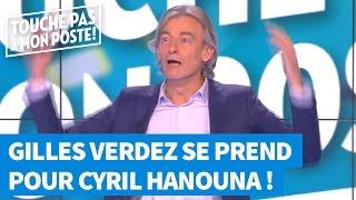 Hypnotisé, Gilles Verdez se prend pour Cyril Hanouna
