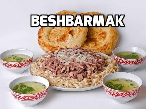 How to make Kazakh Beshbarmak Video Recipe Tutorial