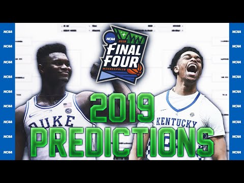 2019 March Madness Bracket Predictions!!! (Upsets!)
