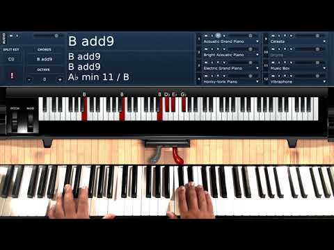 Can You Stop the Rain (by Peabo Bryson) - Piano Tutorial