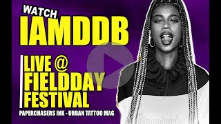 IAMDDB AT FIELD DAY FESTIVAL