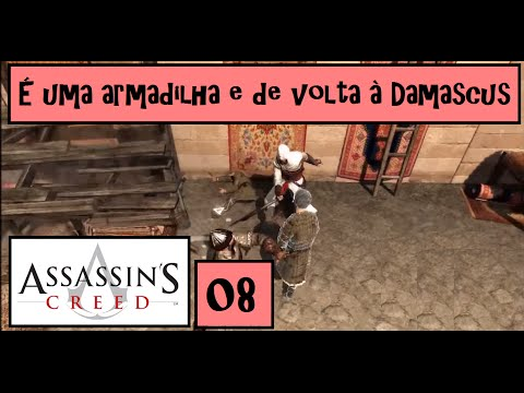 Assassin's Creed - #08 De volta à Damascus (Gameplay PT-BR )