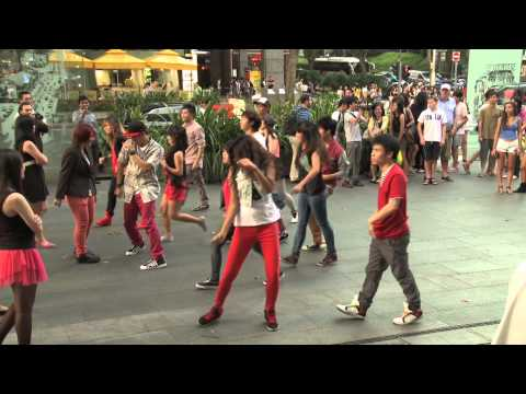 Exclusive! DBS & *SCAPE Faces of the Future - Fashion Mob @ Orchard Road