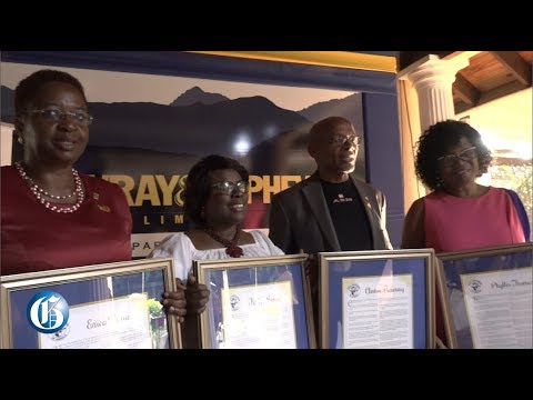 Press Association of Jamaica (PAJ) honours veteran journalists