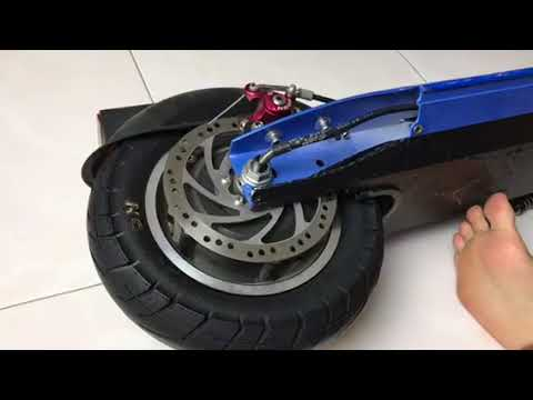 How to remove the rear tire of your electric scooter