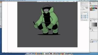 Glennz Illustration Process - Water Bomb Squad