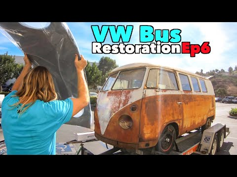 vw-bus-restoration---episode-6!-road-trip!-|-micbergsma