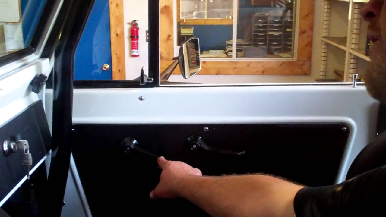 Early Ford Bronco Power Window Kit From Buildabronco Com