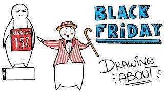 EL ORIGEN DEL BLACK FRIDAY | Draw My Life