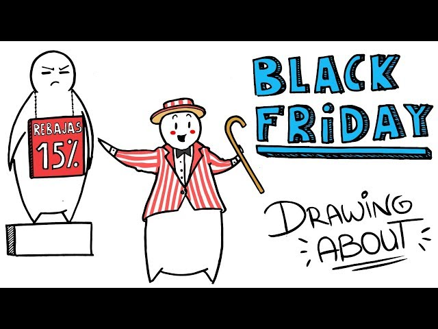 EL ORIGEN DEL BLACK FRIDAY | Draw My Life