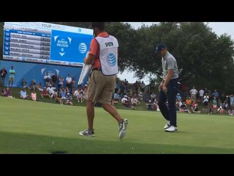 """Spieth: """"It's a little shocking that it happened that way"""" at AT&T Byron Nelson"""