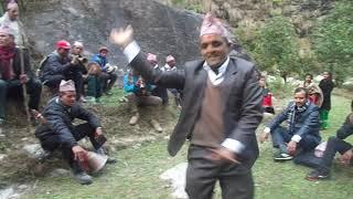 syangjali panche baaja ma  dance