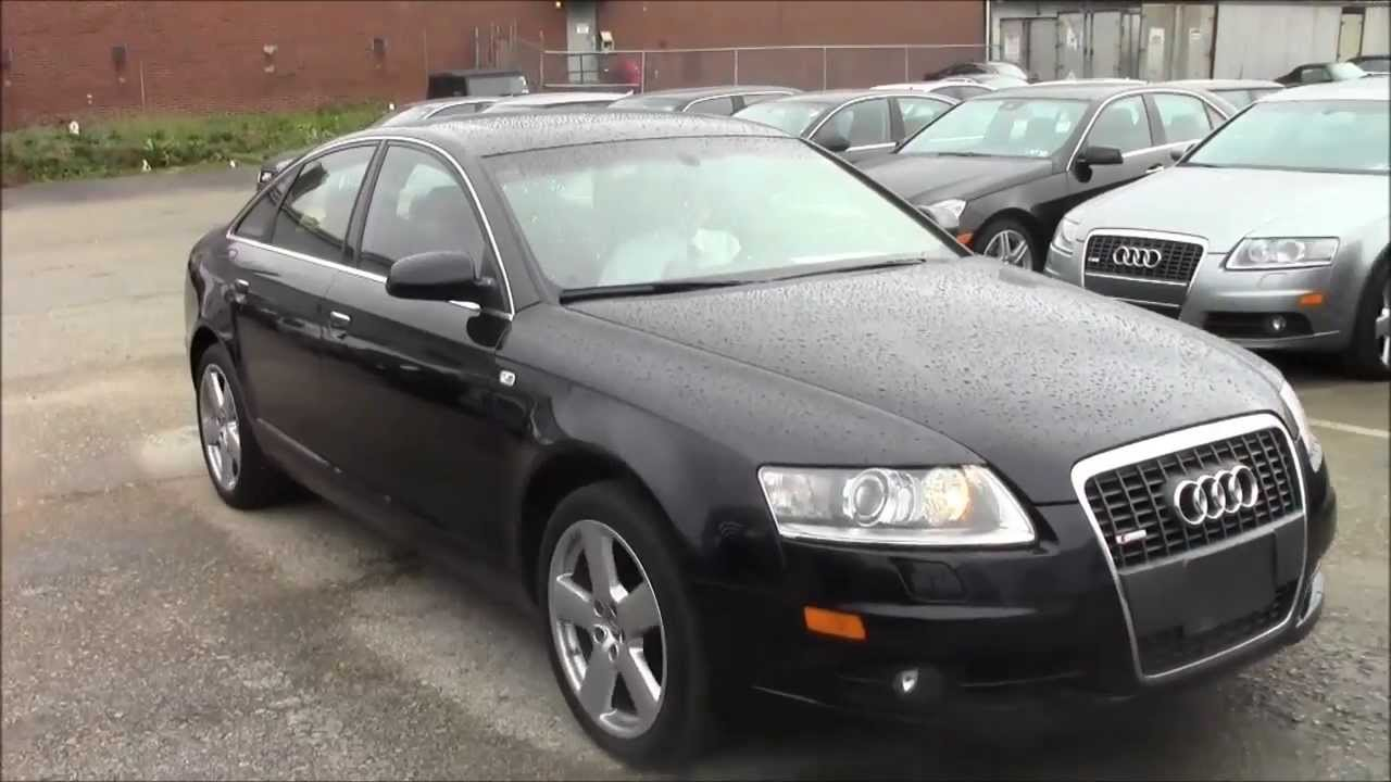 night blue 2008 audi a6 quattro sedan the warehouse cars youtube. Black Bedroom Furniture Sets. Home Design Ideas