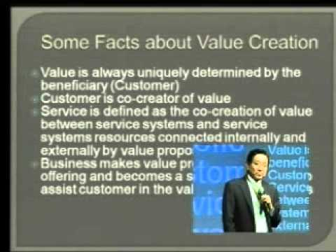 The New Paradigm Shift of Services Supply Chain with Service Research Innovation - NETEC ACE2011
