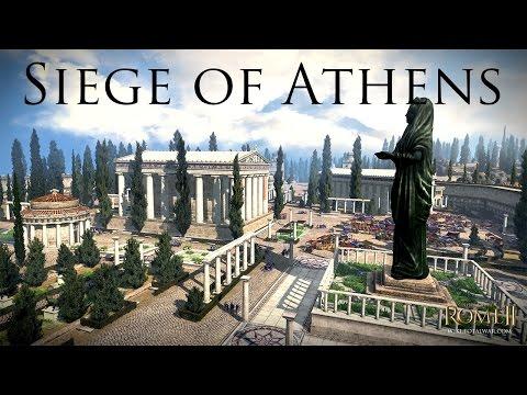 Total War: Rome 2 - Siege of Athens - Athens v Sparta!