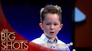 5 Year Old Spelling Bee Prodigy! | Little Big Shots