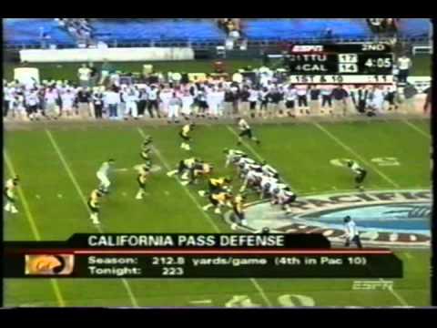 2004 Holiday Bowl: Texas Tech vs. Cal
