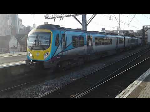 Trains at: Manchester Piccadilly, WCML, 17/11/18