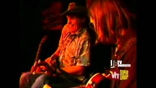 Joe Bonamassa with Ted Nugent on VH1 Supergroup