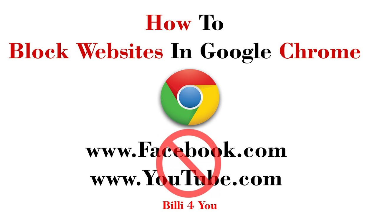 How To Block Websites Using Google Chrome Extension - Create Redirect Link  Or Page